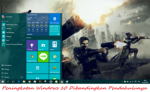 Peningkatan Windows 10 Dibandingkan Pendahulunya